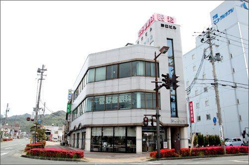 菅野馨眼科の建物画像